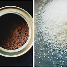 COCOA COCONUT BITS // Makes 20
