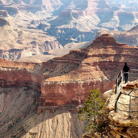 by Jim Salvas - Landscapes Travel ( tourist, overlook, viewpoint, peaks )