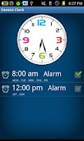Screenshot of Snooze Clock-Free
