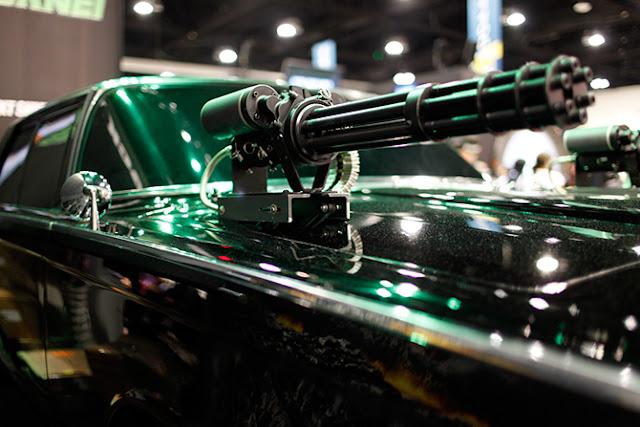 Green Hornets Car