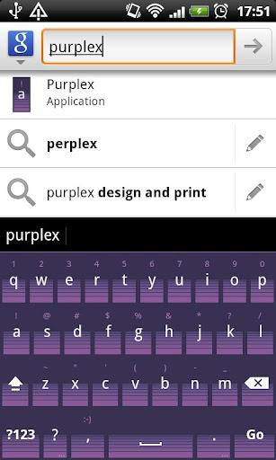 Purplex - HD Keyboard Theme