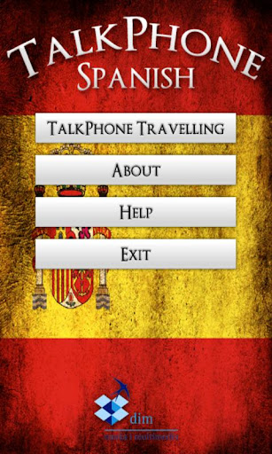 TalkPhone Spanish Travelling