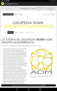 Logopedia Roma - screenshot