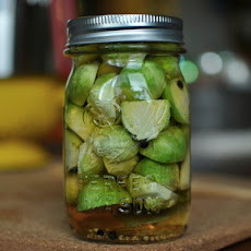 Pickled Brussels Sprout Halves