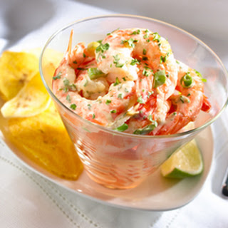 Creamy Asian Shrimp Ceviche