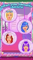 Screenshot of Princess Lips Spa beauty salon