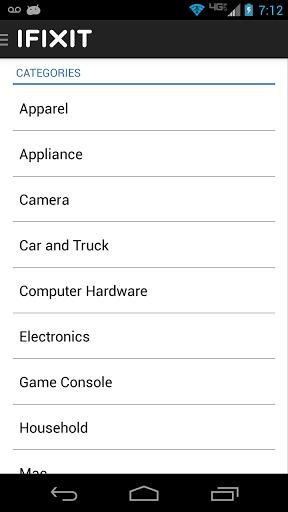 iFixit: Repair Manual Screenshot