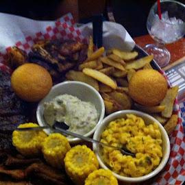 BBQ by Anna Tripodi - Food & Drink Plated Food ( full, food, yum, good, bbq,  )