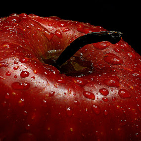 Red apple. by Andrew Piekut - Food & Drink Fruits & Vegetables (  )