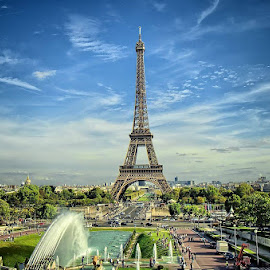 Eiffel by Darlis Herumurti - City,  Street & Park  City Parks