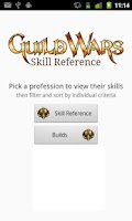 Screenshot of Guild Wars Skill Reference