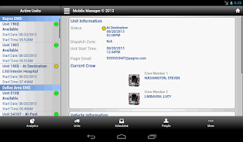 Screenshot of EMS Anyware - Mobile Manager