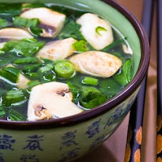 Healing Asian Soup with Ginger