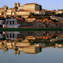 Porto up and down by Antonio Amen - City,  Street & Park  Vistas ( river douro, portugal, reflex, city, porto )