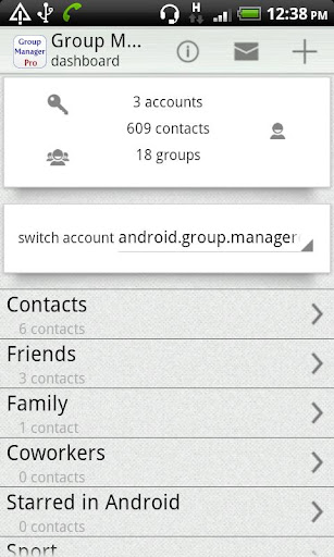 Group Contact Manager