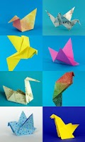Screenshot of Origami Birds
