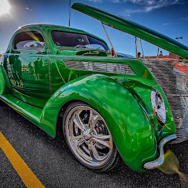 Green Machine by Ron Meyers - Transportation Automobiles