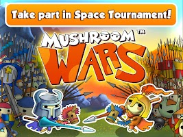 Screenshot of Mushroom Wars