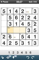 Screenshot of Mathdoku+ Sudoku Style Puzzle