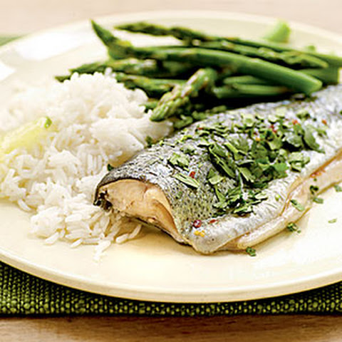 Thai-Style Roasted Trout