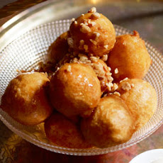 Turkish Delight-filled Doughnuts With Rosewater And Honey Syrup
