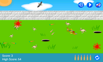 Screenshot of Bunny Blaster