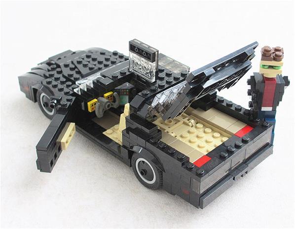 Kitt Knight Rider Lego