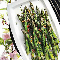 Asparagus with Parsley-and-Orange Butter