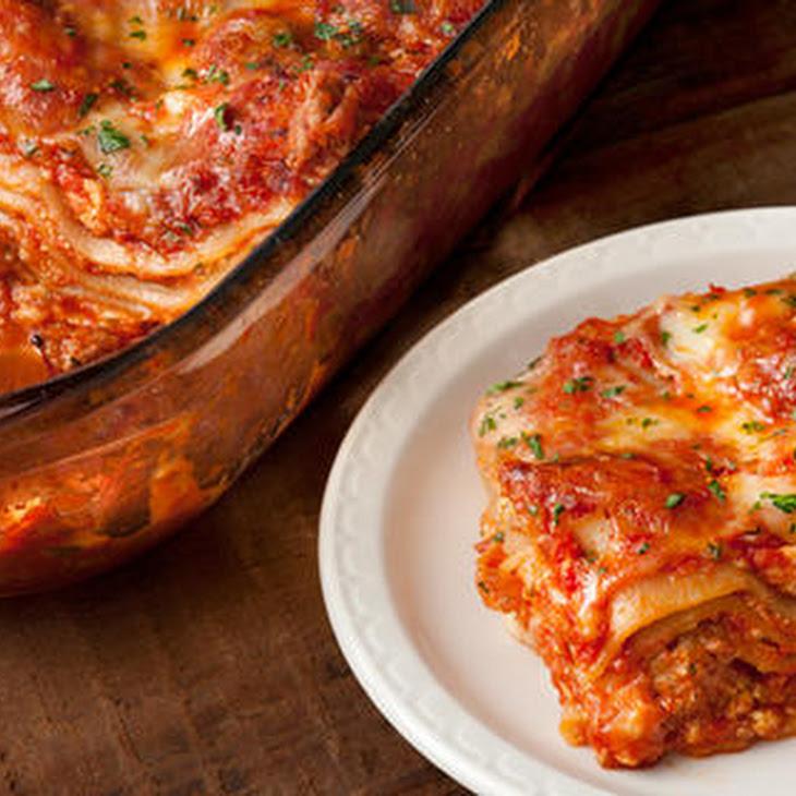 Turkey Sausage Lasagna