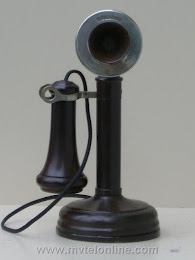 Candlestick Phones - Kellogg  Postal Telegraph Co. Candlestick Telephone 1