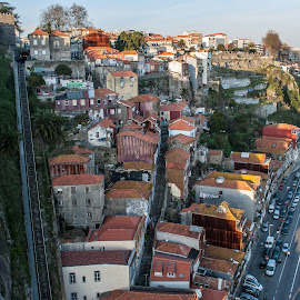 Porto in colors by Chris De Bug - Buildings & Architecture Homes ( tourist, houses, cars, tourism, portugal, porto )