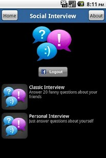 Social Interview - screenshot