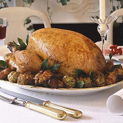 Classic Roast Turkey With Red Wine Baste