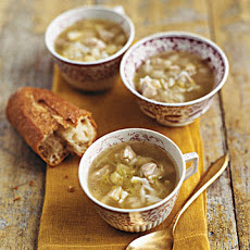 Quick Turkey and Rice Soup