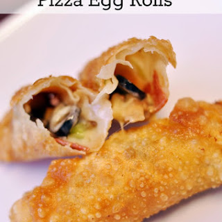 Egg Roll Pizza Rolls Recipes