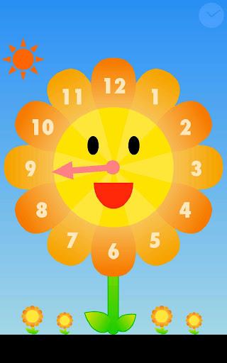 Sunflower clock for Infant
