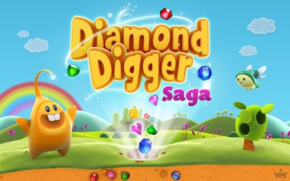 Diamond Digger Saga apk screenshot