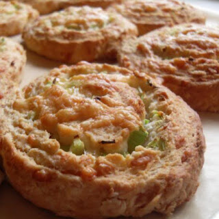 Cheese and Celery Whirls