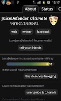 Screenshot of JuiceDefender - battery saver