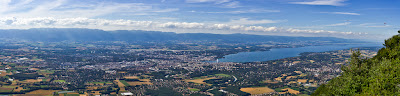 geneve panoramique saleve