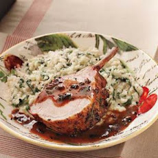 Roasted Pork Loin with Truffle Sauce