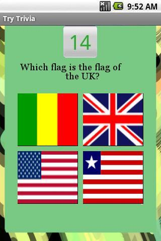 Flags Of The World Trivia