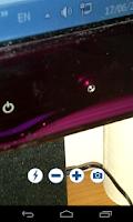 Screenshot of camera flash free