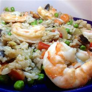 Ginger Shrimp with Fried Rice