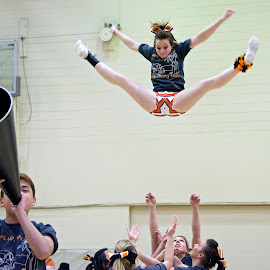 Cheer Toss by Steven Aicinena - Sports & Fitness Other Sports