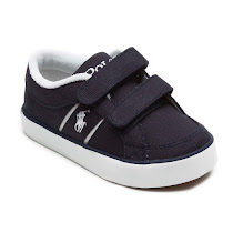 Ralph Lauren Canvas Double Strap Trainer TRAINER