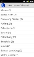 Screenshot of Call Center Selular Indonesia