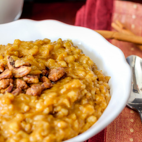 Overnight Pumpkin Pie Oatmeal