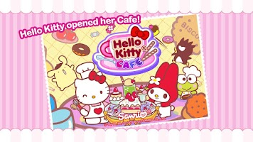 Screenshot of Hello Kitty Coffee Shop