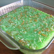 Lime Jello Cabbage Salad